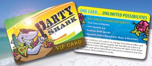Party Shark Card AZ Spring Break