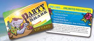 Party Shark Card AZ Spring Break