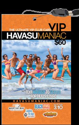 HavasuManiac Card